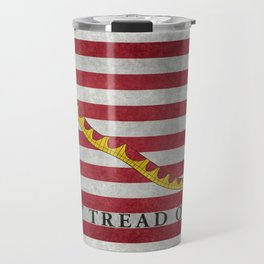 First Navy Jack flag of the USA, vintage Travel Mug