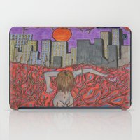 sin city iPad Cases featuring Sin Beneath the City by Labartwurx