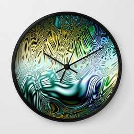 The Colors of the Wind Wall Clock