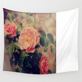 Flashback Roses  Wall Tapestry
