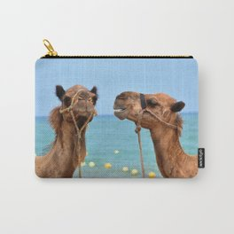 Beach camels Carry-All Pouch
