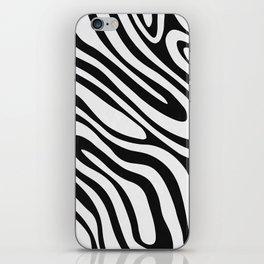 Black & White Minimal II iPhone Skin