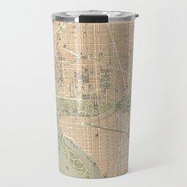 Vintage Map of Washington DC (1892) Travel Mug
