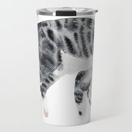 Yoga cat Travel Mug