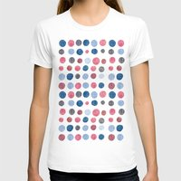 polka dots T-shirts featuring polka dots by Asja Boros Designs