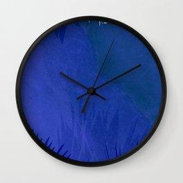 marine flowers Wall Clock