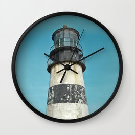 Cape Disappointment Pacific Ocean Washington Northwest Lighthouse Coast Guard Boats Gothic Architect Wall Clock