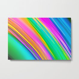 mint saturn Metal Print