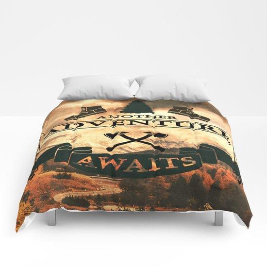 Another Adventure Awaits Comforters