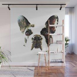 French Bulldog Art - High Contrast Print by Sharon Cummings Wall Mural