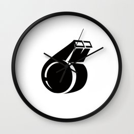 Coach Whistle Ideology Wall Clock