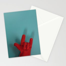 Heavy Metal Oven Mitt Stationery Cards