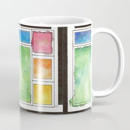 Rainbow Mondrian Coffee Mug