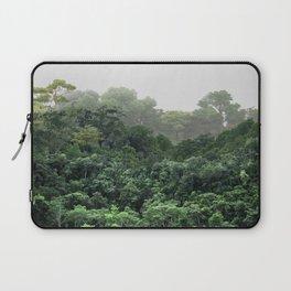 Tropical Foggy Forest Laptop Sleeve