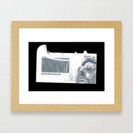 Envelope 2 Framed Art Print