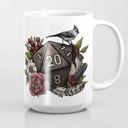 Druid Class D20 - Tabletop Gaming Dice Coffee Mug