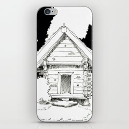 Old cottage iPhone Skin