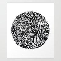 Zendala Art Print