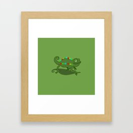 Leddy Lizzard Framed Art Print