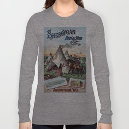 Vintage poster - Sheboygan Boot & Shoe Long Sleeve T-shirt