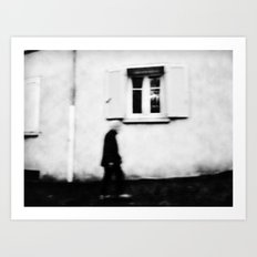 I follow you in the street, sometimes. 4 Art Print