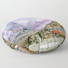 Crystal Visions Floor Pillow
