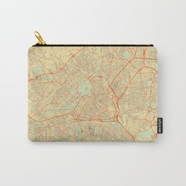 Lille Map Retro Carry-All Pouch