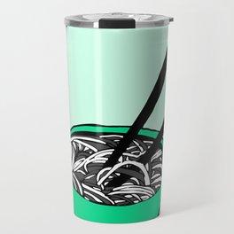 The Soup of Black & White Travel Mug