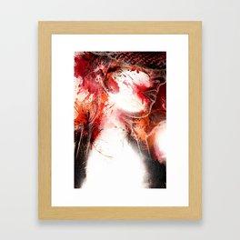 Scarlet O'Harlot Framed Art Print