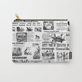 Victorian Circus Poster Carry-All Pouch