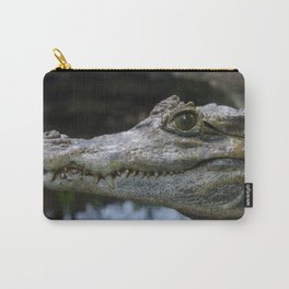 Spectacled Caiman Carry-All Pouch