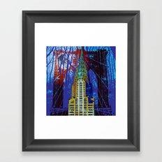 NYC Icons Framed Art Print