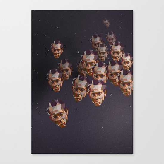 A head of the pack Canvas Print