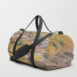 Spring rain Duffle Bag