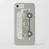 van iPhone & iPod Cases featuring Hippie van by eARTh