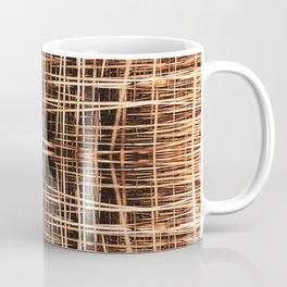 Basket Weave Coffee Mug