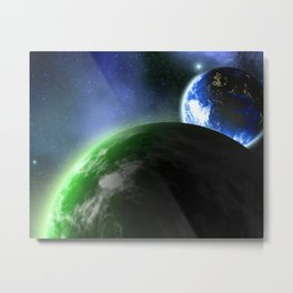 A New Planet In Our Solar System Metal Print