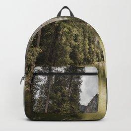Yosemite National Park, United States. Backpack