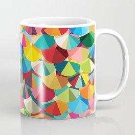 Piecharts Pattern Coffee Mug