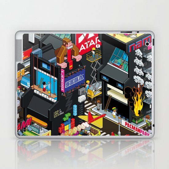 GAMECITY Laptop & iPad Skin