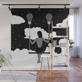 Let Your Ideas Carry You Wall Mural