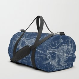 Capricorn sky star map Duffle Bag