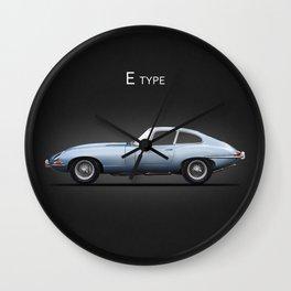The E-Type Wall Clock