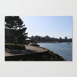 Seawall 1 Canvas Print