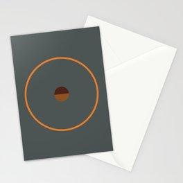 catch    anthracite & ocher Stationery Cards