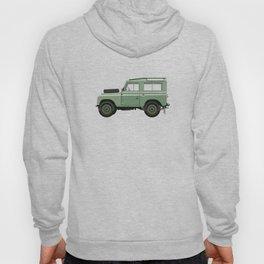 Car illustration - land rover defender Hoody