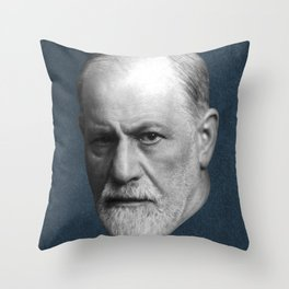 Sigmund Freud, c. 1921 Throw Pillow