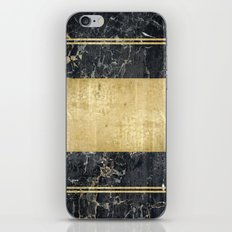marble in gOld iPhone & iPod Skin