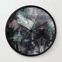 scream Wall Clocks featuring Scream by Lil'h