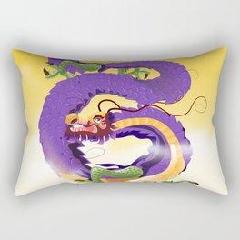 Harbin China Dragon travel poster Rectangular Pillow